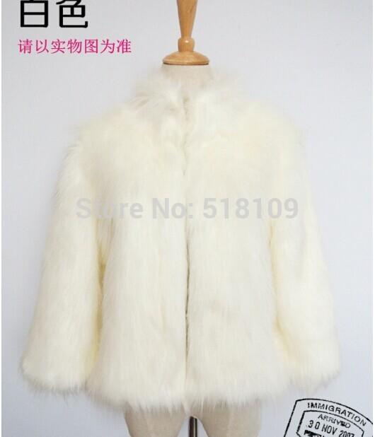 White Coats For Women Women Faux Fur Coat White