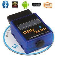3 Years Warranty Newest MINI ELM 327 Bluetooth Vgate Scan OBD2 / OBDII ELM327 V1.5 Code Scanner B06