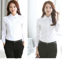Wholesale Woman Blouses And Shirts 2014 Long Sleeve Women Chiffon Blouse Embroidered Cotton Blouse Lace Plus Size Chiffon Blouse