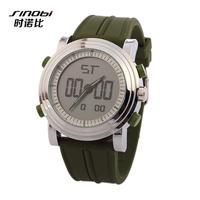 New Arrive Fashion LED Digital Army Military Watch Luxury SINOBI Brand Wristwatches Men Sports Watches
