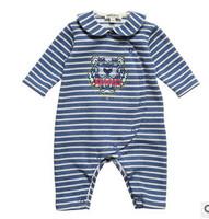 Brand Baby Boy/Girl Autumn Clothes Infant Long Sleeve baby Rompers NewbornembroideryTiger Warm Onepieces roupas de bebeUnisex