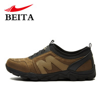 2014 New autumn male hiking shoes light breathable outdoor sports walking shoes waterproof anti-skid mountain climbing boots