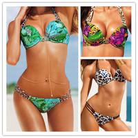 new women'sbikini swimsuit leopard print 0352