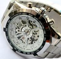 Wholesale Men wristwatches fashion Steel strap Mechanical watch sports watches men