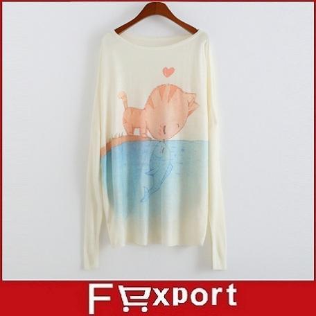 Vendita calda 2015 nuove donne moda maglieria maglione lavorato a maglia a maniche lunghe a pipistrello o- pullover collo maglione fille 21 tipi modello