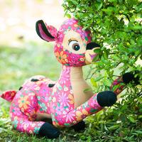 Cloth Creative sika Deer Plush Doll Toys Free shipping