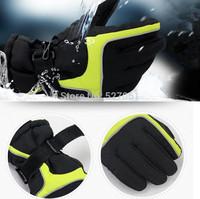 1Pair Winter Warm Outdoor Sports Windproof Waterproof Ski Motorcycle Snowboard Gloves-New
