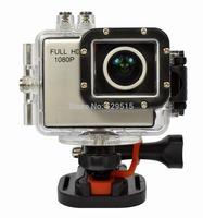 8 Mega Pixels Wide Dynamic HD 1080P Sports Camera with G-sensor Built-in & Waterproof, Dustproof, Shockproof and Freezeproof
