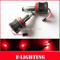 20W H8 LED Angel Eye Red Halo Ring Light No Error for BMW 1 3 5 Series Z4 X5 X6 E90 E92 E93
