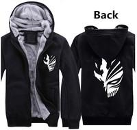 Hot New Winter Clothes Bleach Kurosaki ichigo Persona  Cosplay Hoodies Sweatshirts knittin  Free Shipping