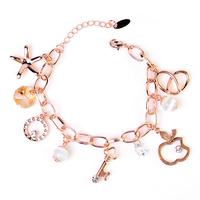 High-grade Zircon Crystal Bracelet Pendants Tassel Bracelets