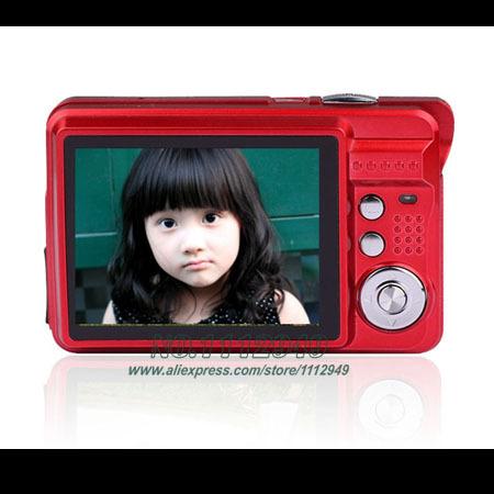 MAX 18MP Cheap Digital Camera with 2.7 inch LCD Sreen 8X Digital Zoom Anti-shake Gift Cameras(China (Mainland))