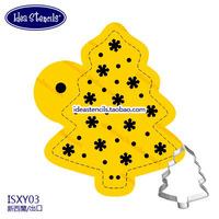 Cookies Stencils Christmas tree,cookiesSugar powder sieve fondant cake mold spray design,Snowflake,HMC075Y03