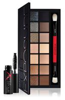 retail 14 color nake smash box full exposure palette make up eyeshadow kit set ,pro palette makeup shadows with brush