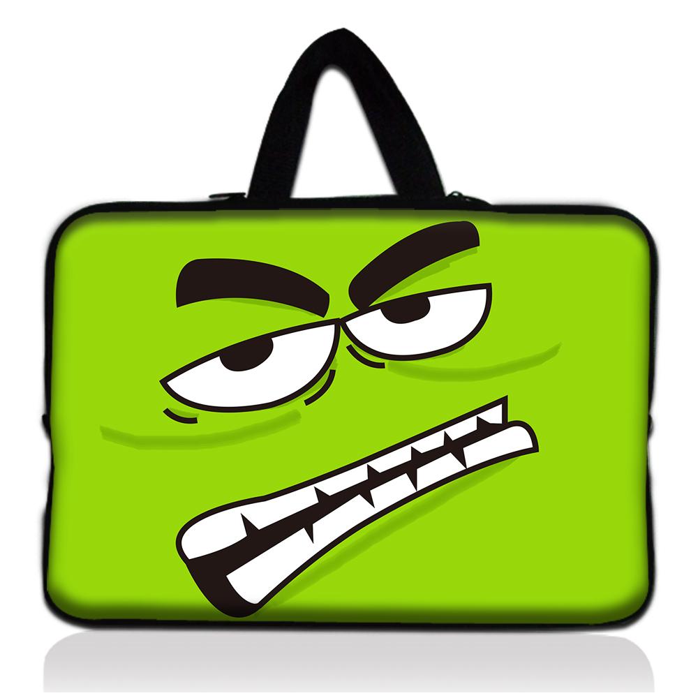"moda venda quente freeshipping unissex 1 1. 6""- 1 2. 1 polegadas colorido neoprene mini laptop manga caso bolsa de laptop netbook capa bolsa(China (Mainland))"