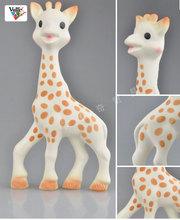 mordedor bebê dentição teehers seguro borracha natural sophie a girafa bebê original la mordedor chupeta dentição vulli mastigar brinquedo(China (Mainland))