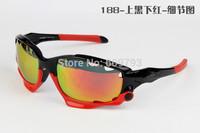 Best Quality 2015 Bicycle Jawbone Cycling Eyewear Glasses Sport Sunglasses UV400 3 Lens Polarized Sporting Sun Glasses Goggles
