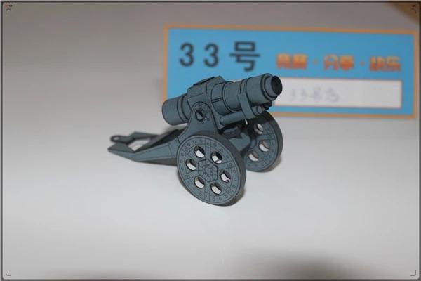 Very Hot Game WH 40K DDK Artillery Paper Model(China (Mainland))
