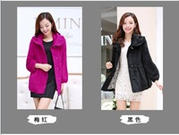 Free shipping new 2014 early autumn knitted cardigan coat mink coat mink cashmere coat fluff