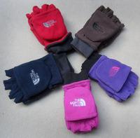New fashion Fleece glove Men's half finger glove women's mitten winter warm glove fleece glove free shipping