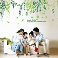 dream green Wall stickers \TV backdrop stickers/wallpaper