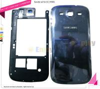 2 in 1 Bundle set Middle housing Bezel Frame Back cover set Replace for damage scratch Broken Samsung i9300 Galaxy S3 Original