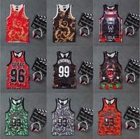 DR-35 Rose flower Number 23 Breathable Tanks top men Sport Hip hop Quick dry Undershirt Basketball 3d vest men Hba Jordan