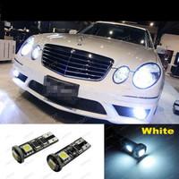 White Mercedes Canbus Error Free LED Parking Lights 3SMD 5050
