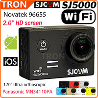 "Original SJCAM SJ5000 WIFI Waterproof For GoPro Camcorder SJ4000 HD Camera Novatek 96655 14MP 1080P 2.0"" LCD HD Android iOS"