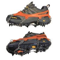 Bangor 2x Anti-slip Ice Cleats Shoe Boot Tread Grips Traction Crampon Chain Spike Sharp Snow Walking Walker