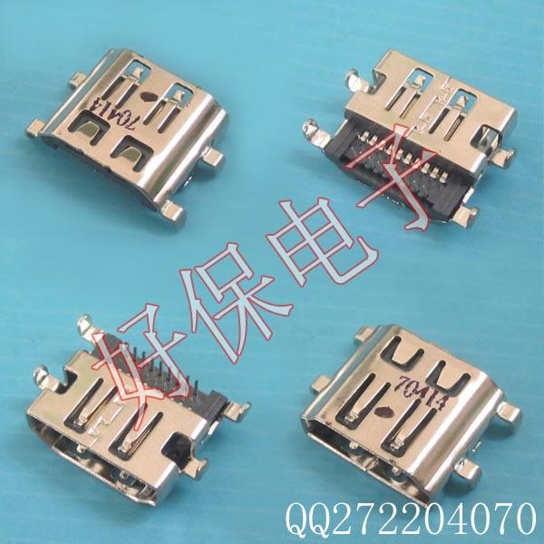 5pcs/lot New!!! HDMI Connector for Packard Bell Easynote LJ61 LJ71 Gateway NV72 NV76 NV78 nv7802u motherboard HDMI Jack(China (Mainland))