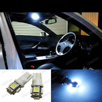 White 168 2825 5-SMD LED Interior Map Dome Lights