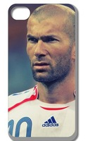 1pc New Zinedine Zidane Hard Back Cover Case for Iphone 5 5s Free Shipping 010