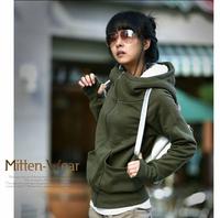 new arrive Autumn Korea Women Hoodies Sweatshirts  cheap price high quality full sleeve cardigans