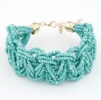 new design Korean fashion bohemian style Elasticity handmade beaded bracelet jewelry 2014 fashion women