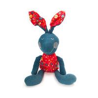 Cloth Crazy cowboy Rabbits Plush Doll Toys Free shipping