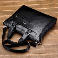 2014 New Brand men's messenger bag,fashion business handbag,handsome shoulder bag,large capacity briefcase Free Shipping