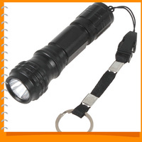 ZY-568 0.2W 60LM Mini LED Flashlight Torch Aluminium Alloy Waterproof Portable LED Flash Light Lamp for Household / Outdoors