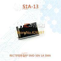 S1A-13 RECTIFIER GPP SMD 50V 1A SMA 30pcs