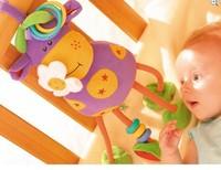 Free shipping  baby toy TOLO animal Mavericks baby lathe hanging plush toys musical rattle mobile 28cm