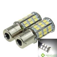 1156 ( P21W Ba15s ) 20W 2-Mode White 42x5730SMD 1200LM 6500K  Turn Signal Light / Brake Light DC/AC12-16V