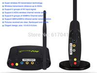 pat 2662.4GHZ STB wireless sharing device/350m AV transmitter receiver with IR remote /digital display