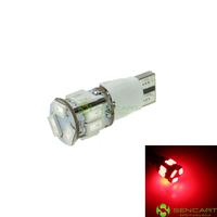 T10 149 168 W5W LED 2-Mode Red  5W 11X5630SMD 400-550LM for Car Signal Light (20PCS/DC12-16V)
