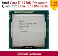 Original Processor for Intel Core i7 3770K Quad Core LGA 1155 3.5GHz L3 cache 8M HD 4000 Desktop CPU