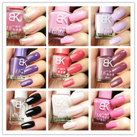 20 bottle bk nail polish oil 8911 quick dry solid color 01 - 42