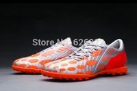 New Arrival Top Quality Predator Absolado Instinct TF Soccer Boots Coppa del Mondo Nero Arancione Bianco Turf  Soccer Shoes