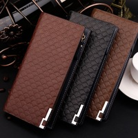 Free Shipping! New High quality Men's Fashion vintage Leather  wallets 3 colors Man Purse Men Wallets C3311