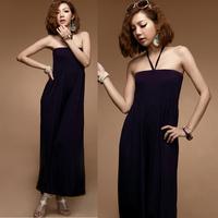 Fashion elastic high waist jumpsuit 10760 pans