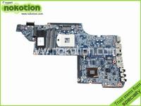 Laptop motherboard For Hp Pavilion DV6-6000 Intel hm65 ddr3 Socket PGA989 641485-001