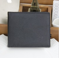 Free Shipping! New High quality Men's Fashion vintage Genuine Leather  wallets Man Purse Men Wallets C3316
